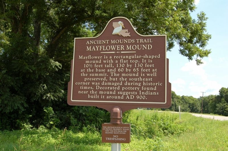 Mayflower Mound Marker image, Touch for more information