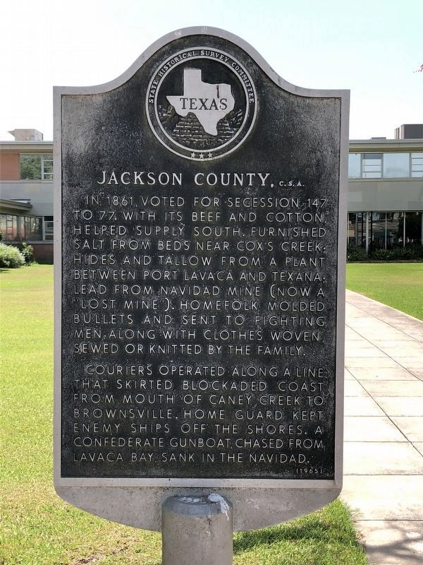 Jackson County, C.S.A. Marker image. Click for full size.