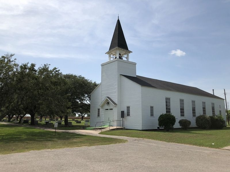 Ansgar Evangelical Lutheran Church and Cemetery image. Click for full size.