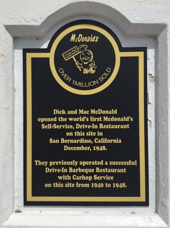 World's First McDonald's Marker image. Click for full size.
