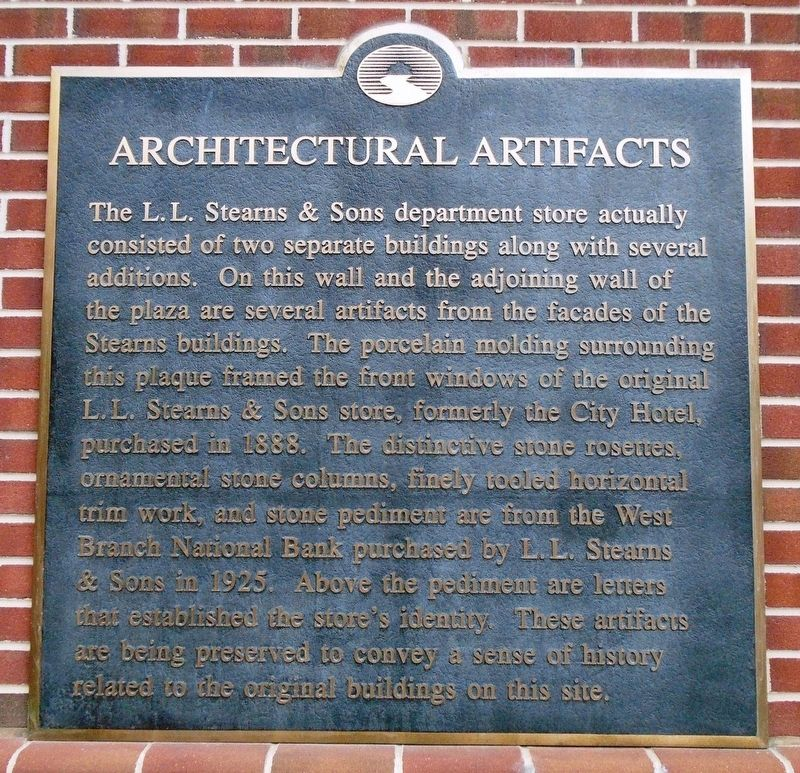 Architectural Artifacts Marker image. Click for full size.