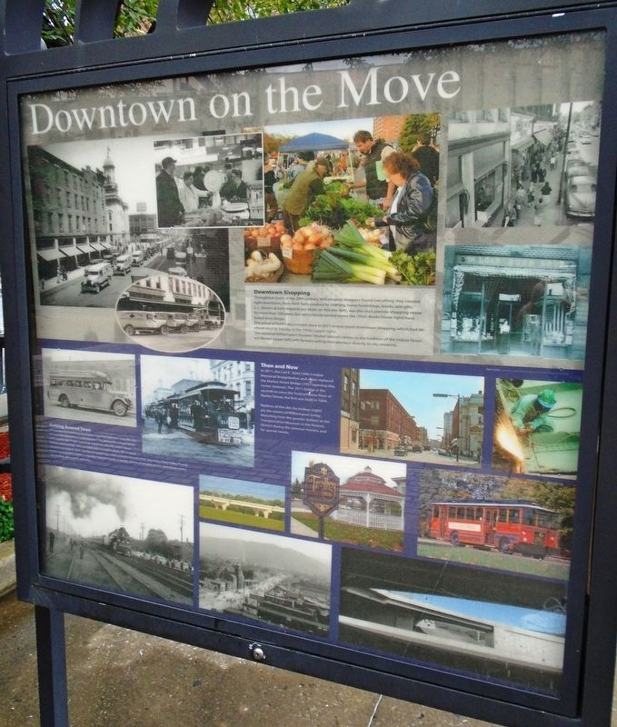 Downtown on the Move Marker image. Click for full size.