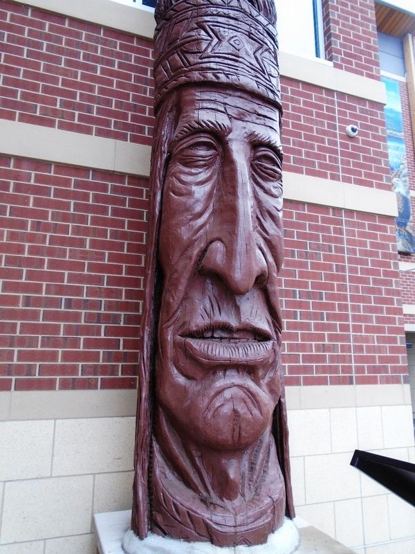 Chief Woapalanne Sculpture image. Click for full size.