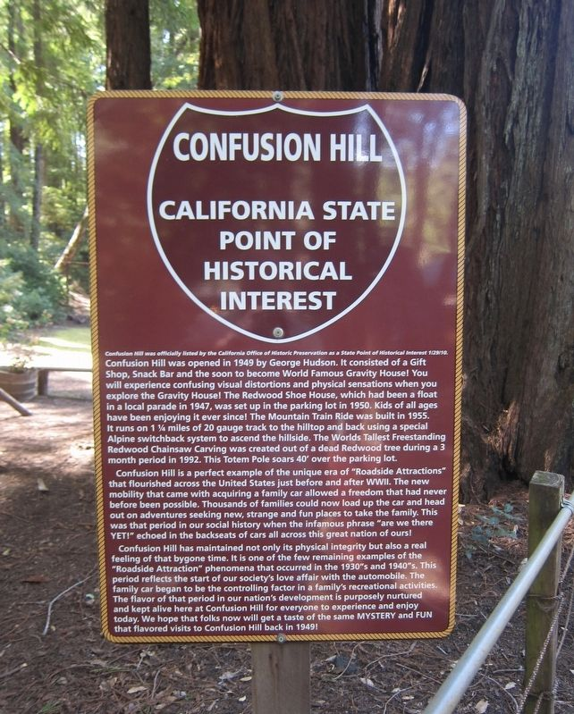 Confusion Hill Marker image. Click for full size.