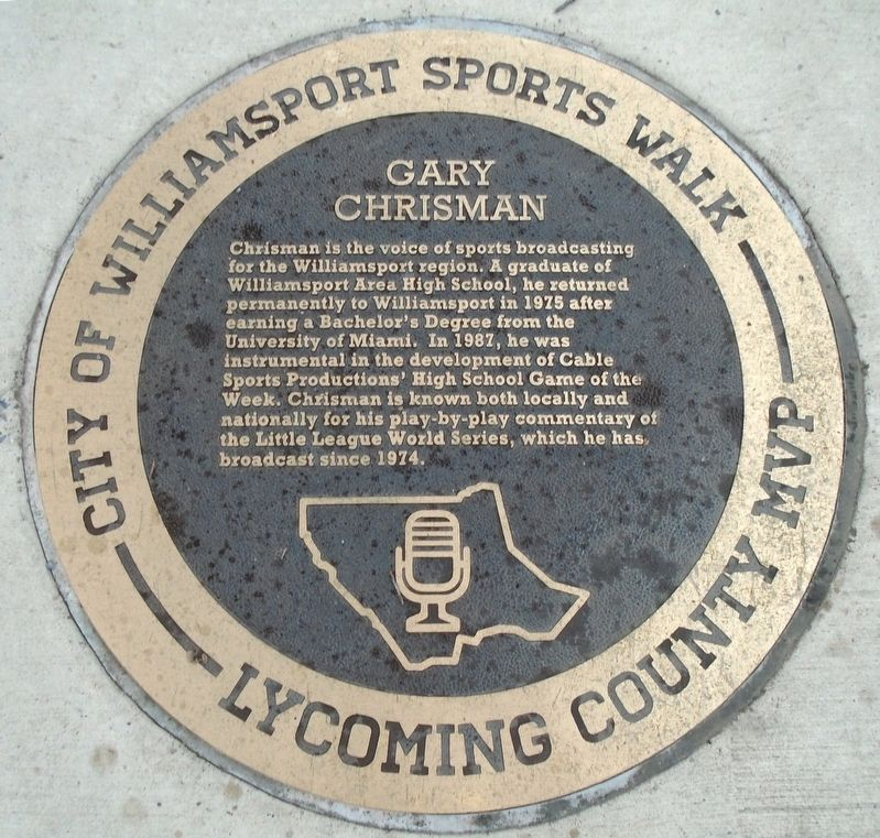 Gary Chrisman Marker image. Click for full size.