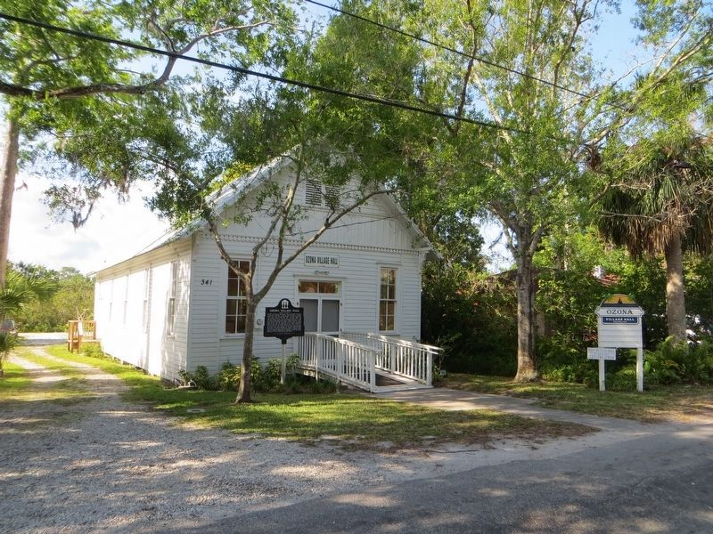 Ozona Village Hall image. Click for full size.