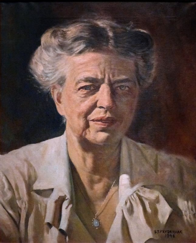 Eleanor Roosevelt image. Click for full size.