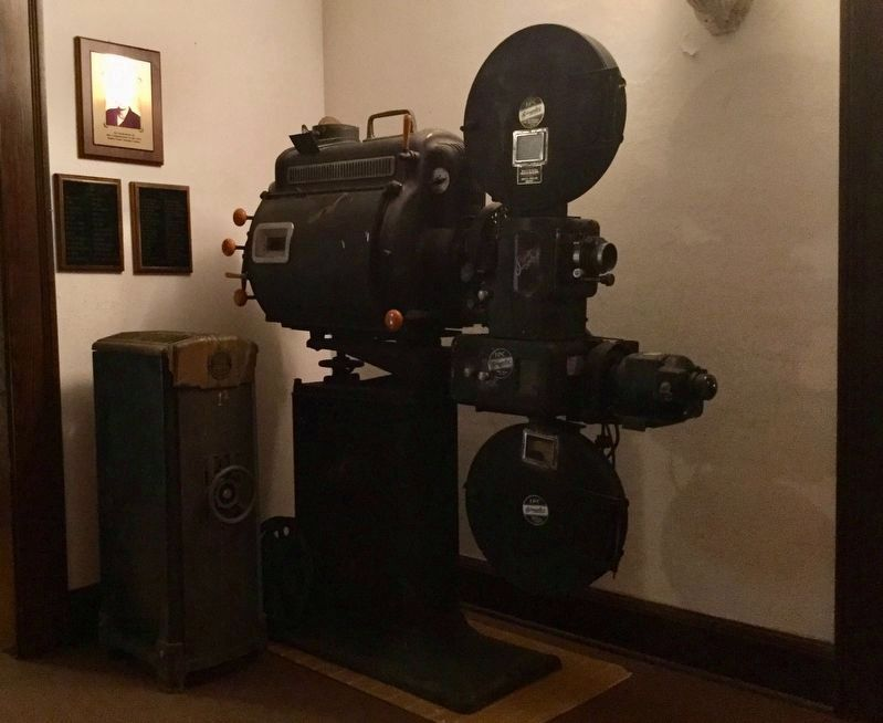 Historic Projector image. Click for full size.