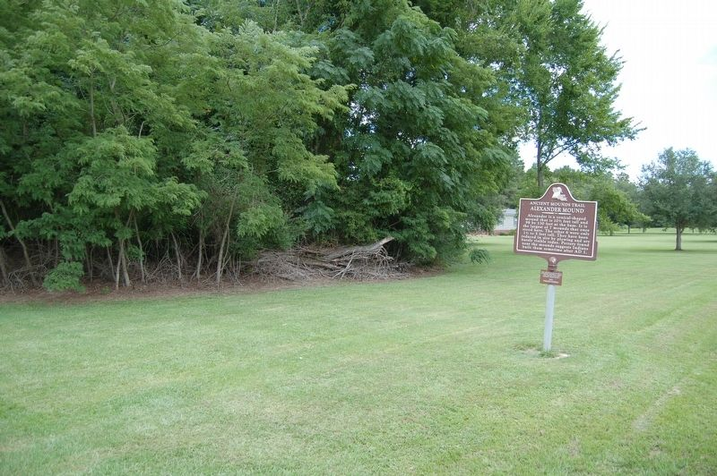 Alexander Mound Marker image, Touch for more information