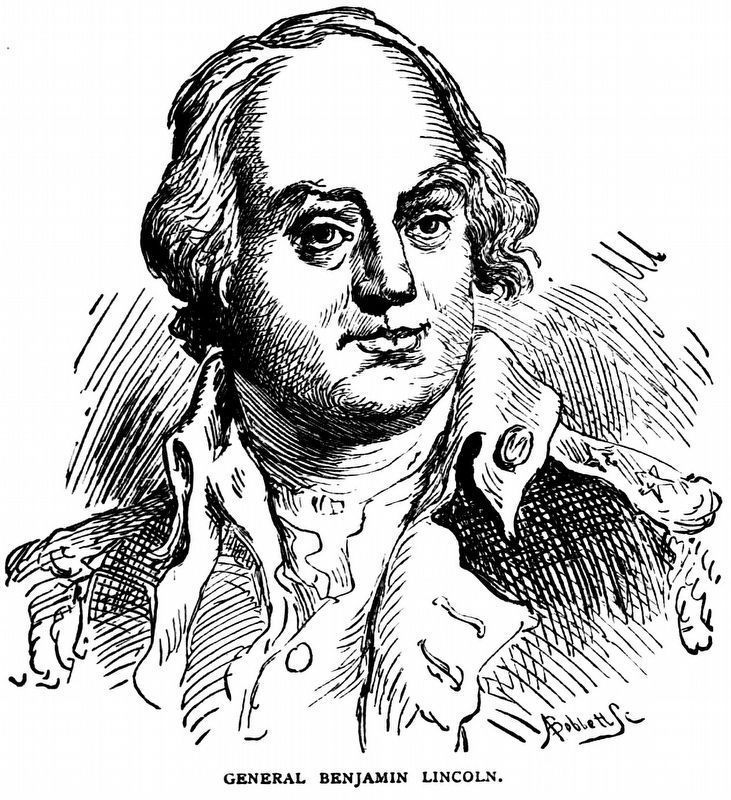 General Benjamin Lincoln image. Click for full size.