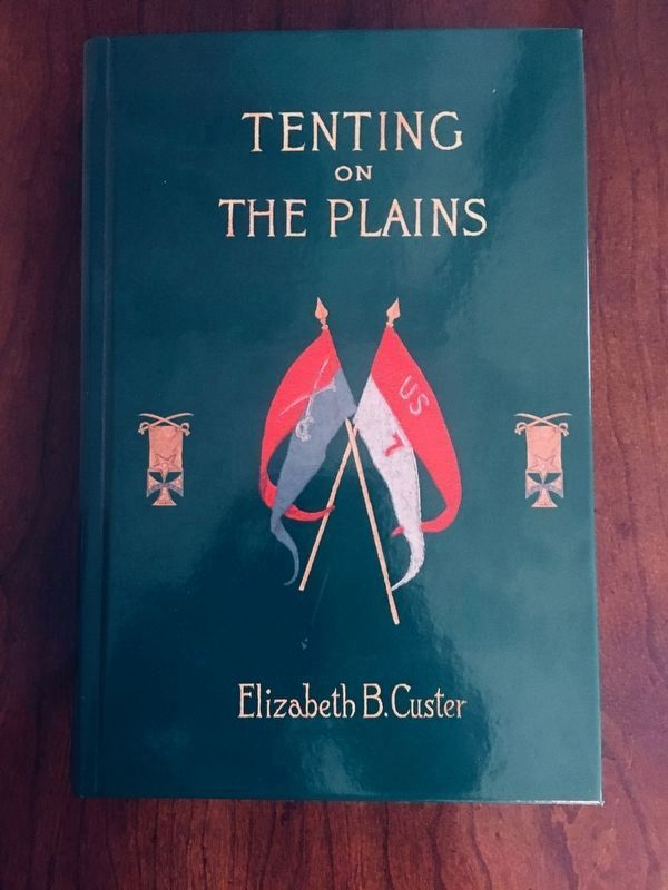 Tenting on the Plains, by Elizabeth Custer image. Click for full size.