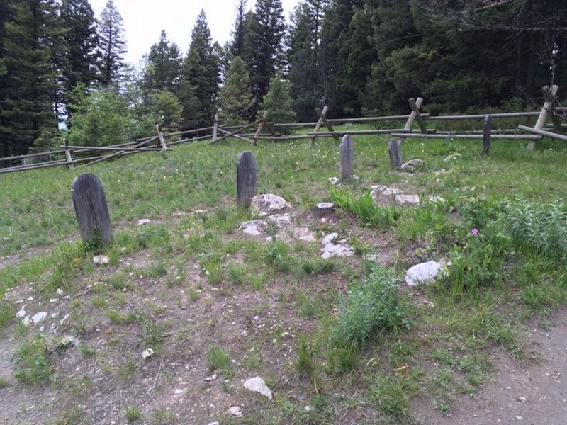 An additional view of the graves at Sand Park Cemetery image. Click for full size.