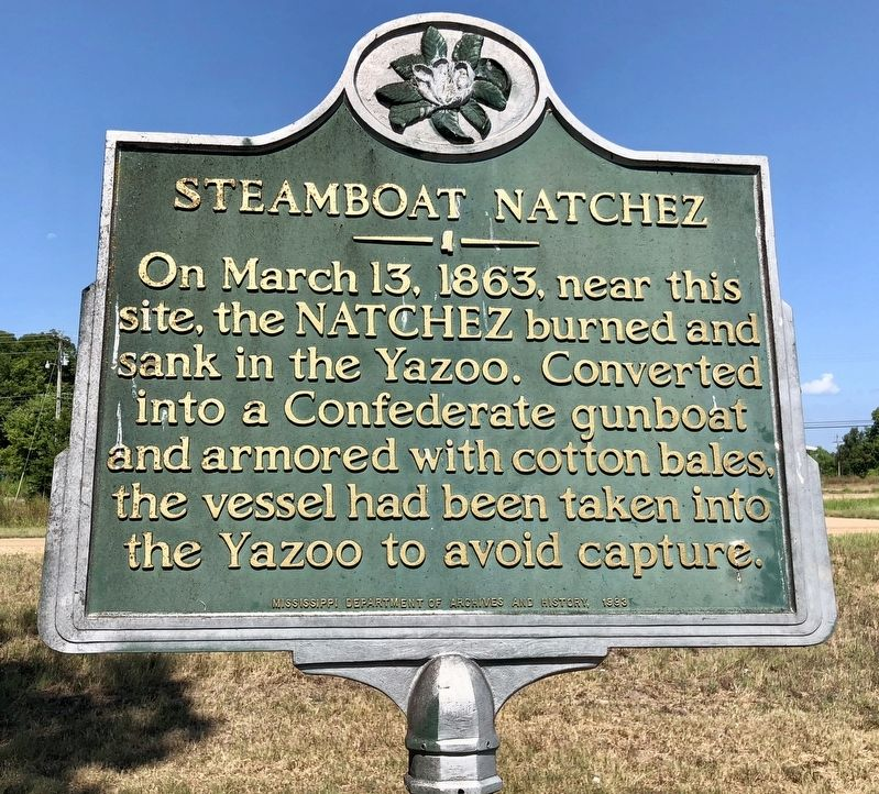Steamboat Natchez Marker image. Click for full size.