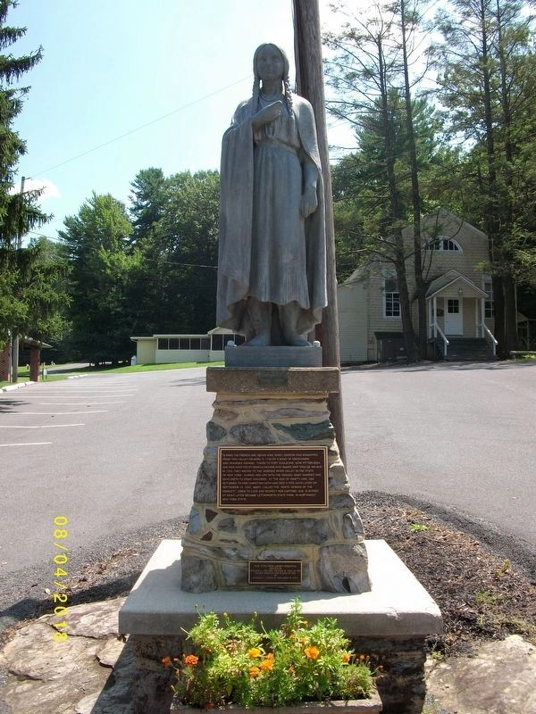 Mary Jemison Statue image. Click for full size.