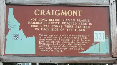 Craigmont Marker image. Click for full size.