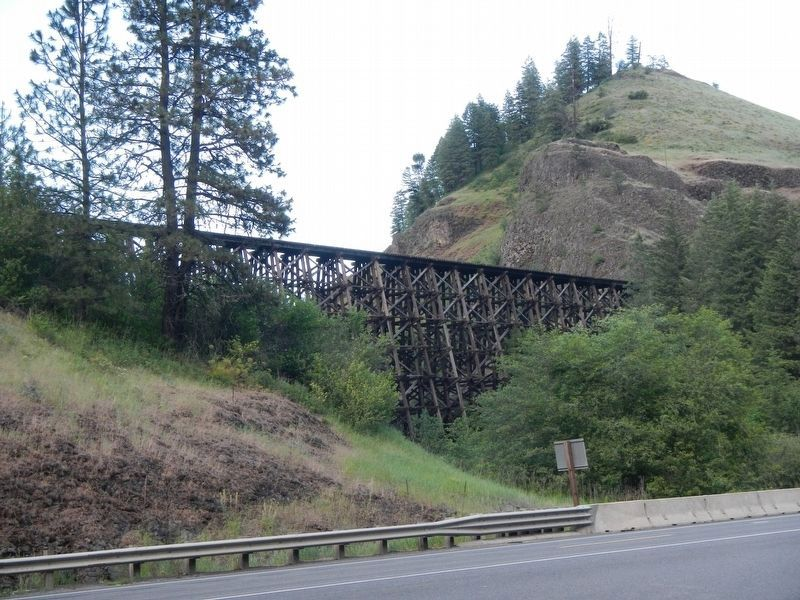 Camas Prairie Railroad Trestle image. Click for full size.