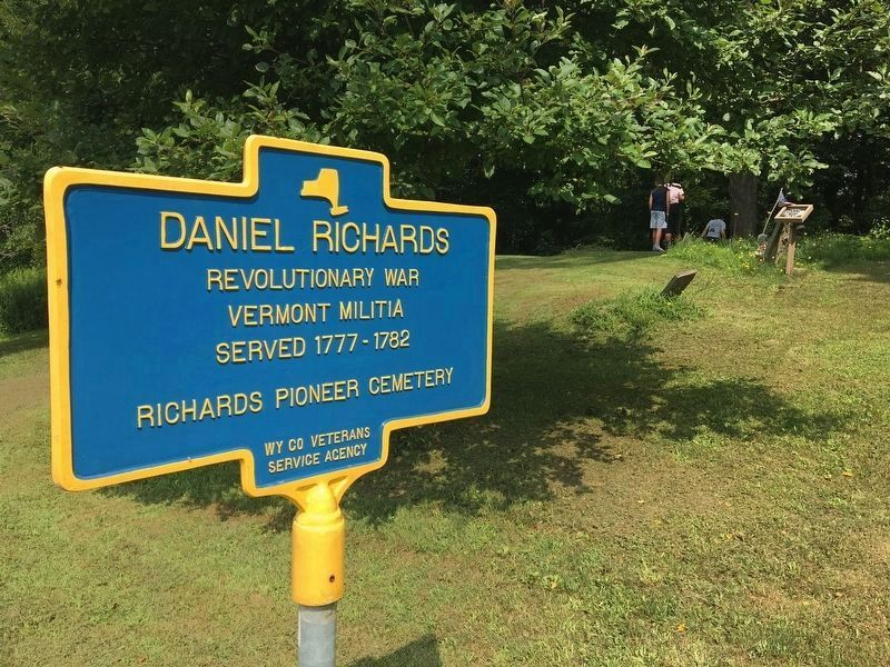 Daniel Richards Marker image. Click for full size.