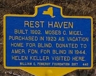 Rest Haven Marker image. Click for full size.