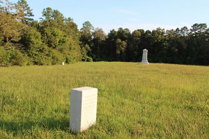 13th & 154th Tennessee Infantry Marker image. Click for full size.