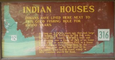 Indian Houses Marker image. Click for full size.
