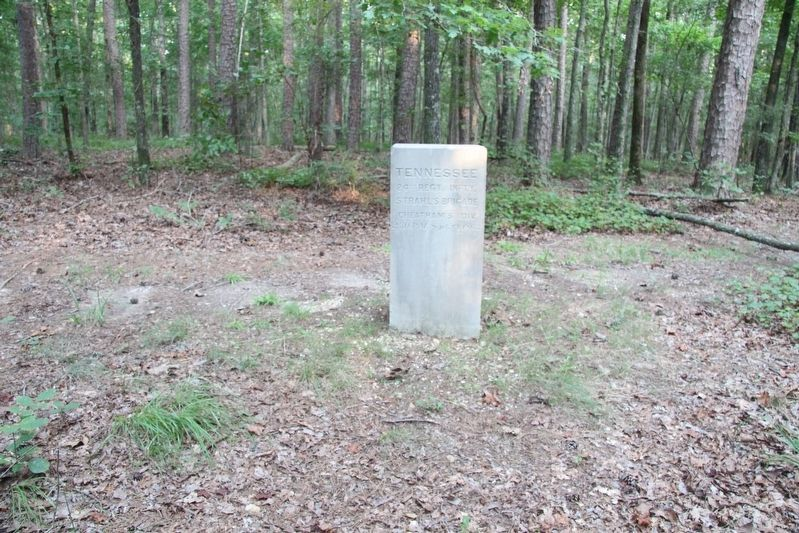 24th Tennessee Infantry Marker image. Click for full size.