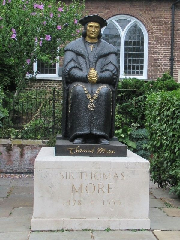 Sir Thomas More Marker image. Click for full size.