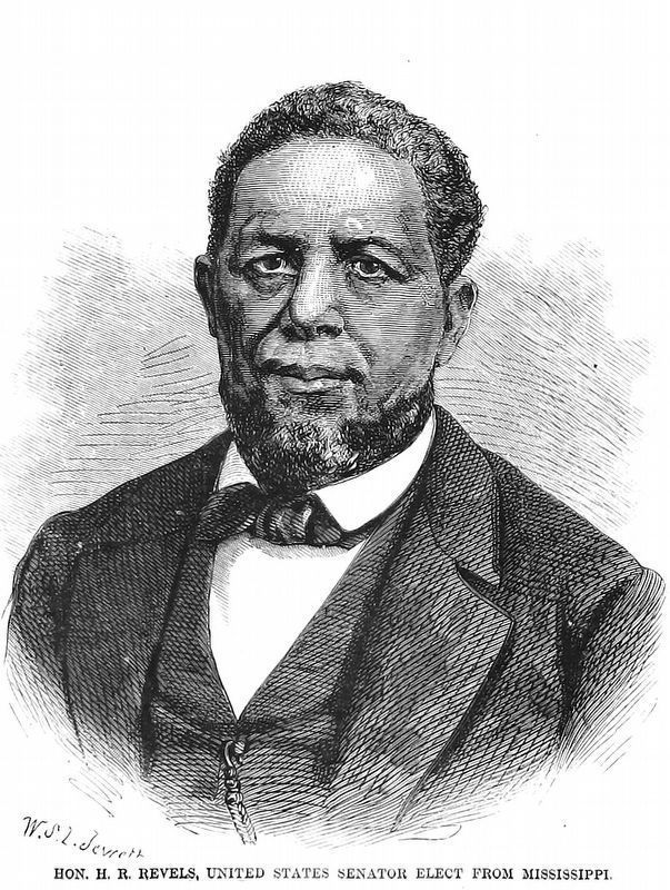 Hon. H. R. Revels<br>United States Senator Elect<br>from Mississippi image. Click for full size.