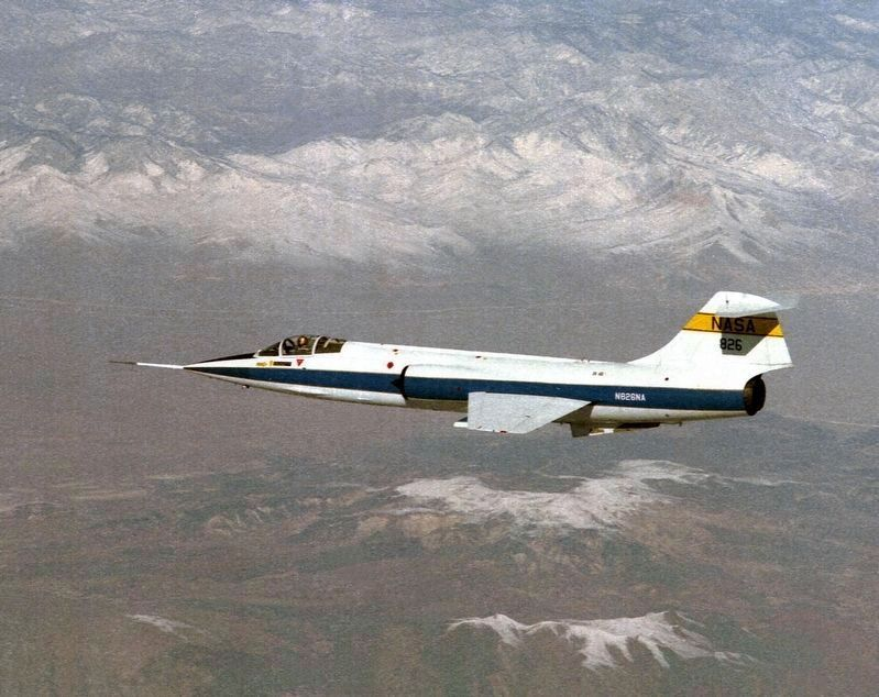 Lockheed F-104 image. Click for full size.