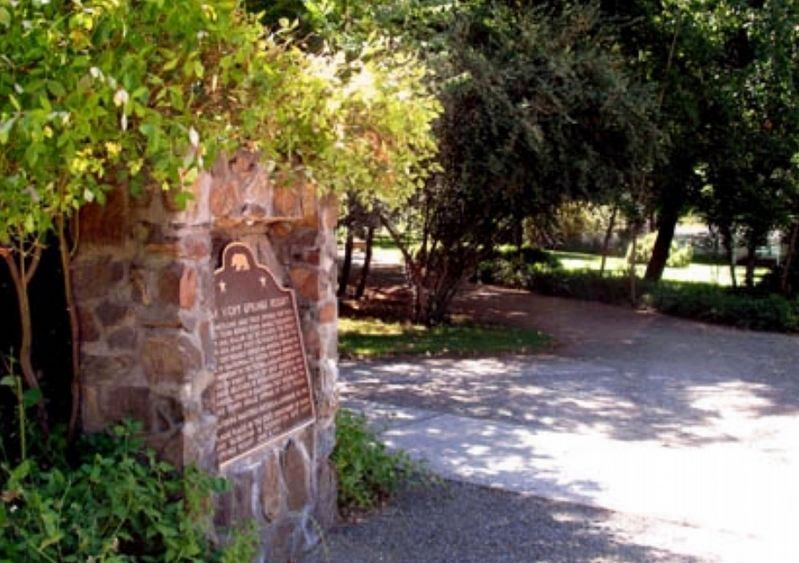 Ukiah Vichy Springs Resort Marker image. Click for full size.