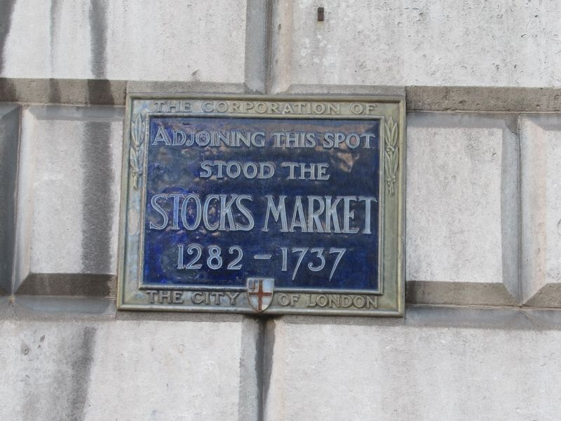 Stocks Market Marker image. Click for full size.