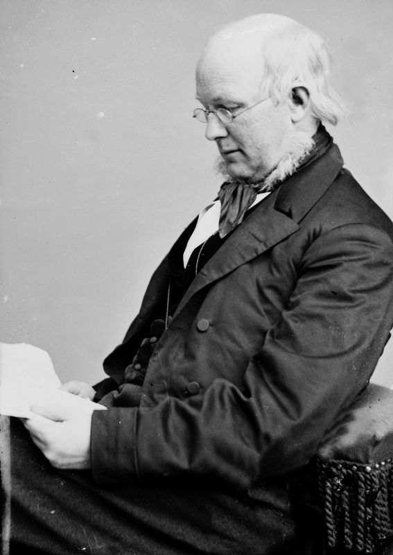 Horace Greeley image. Click for full size.