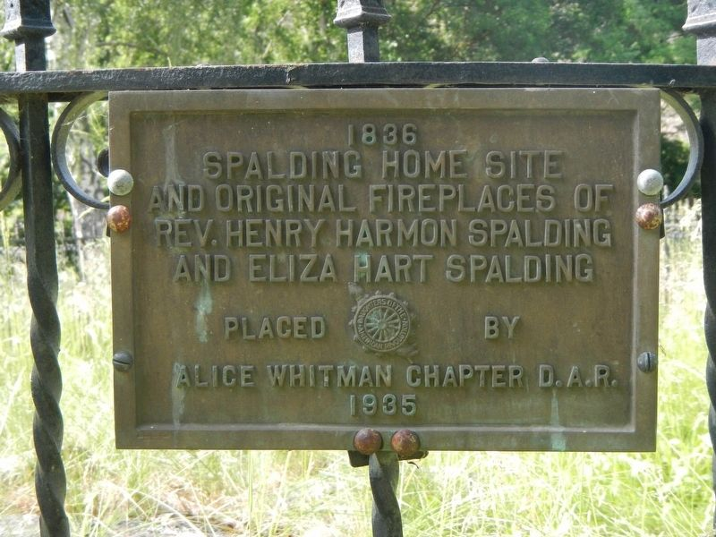 Spalding Home Site Marker image. Click for full size.