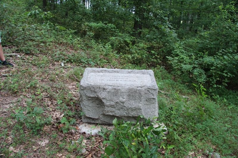 8th South Carolina Infantry Marker image. Click for full size.