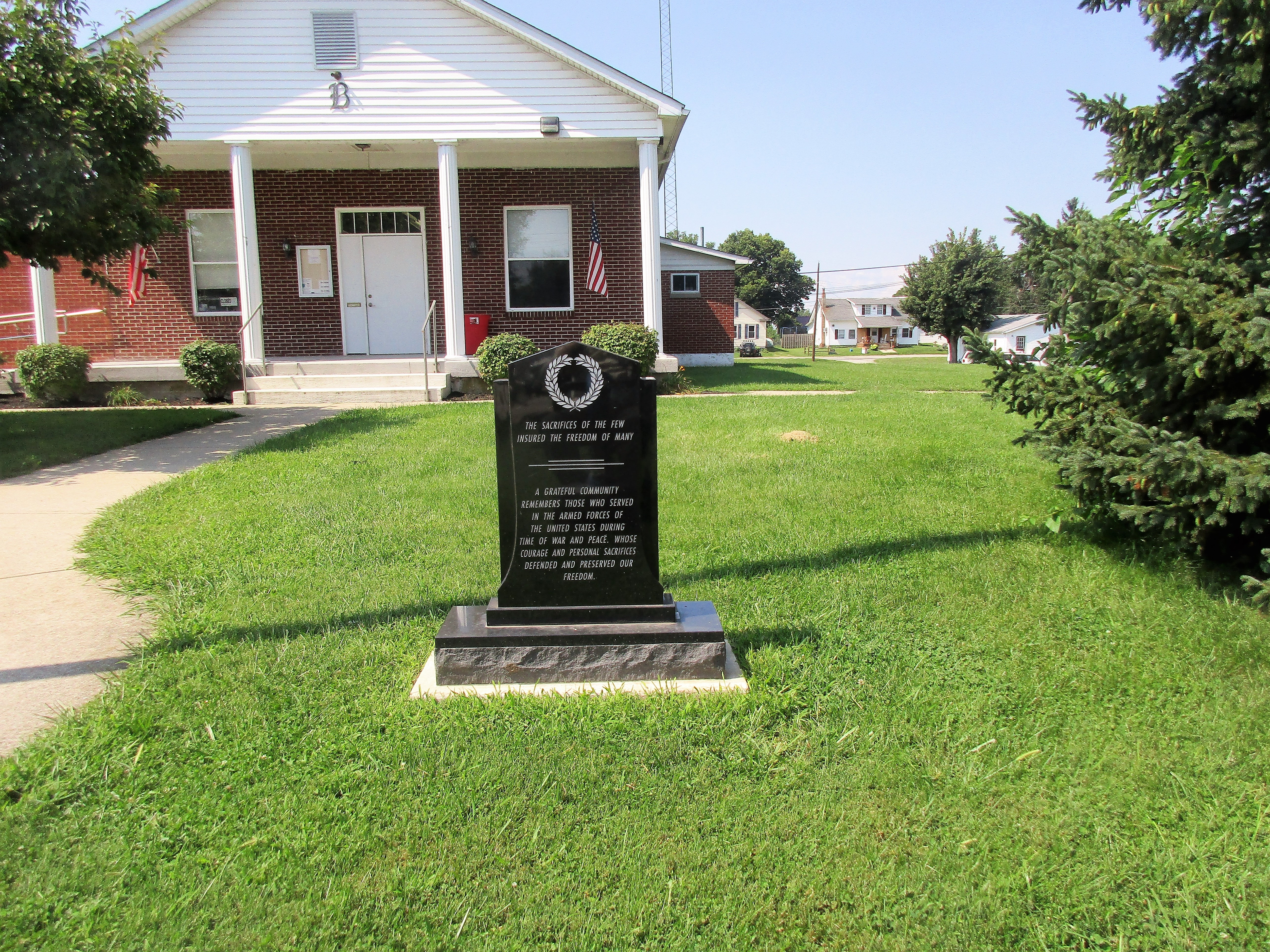 Bloomingburg Veterans Memorial Marker
