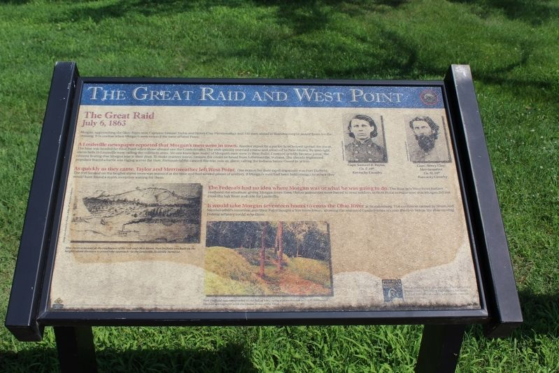 The Great Raid and West Point Marker image. Click for full size.