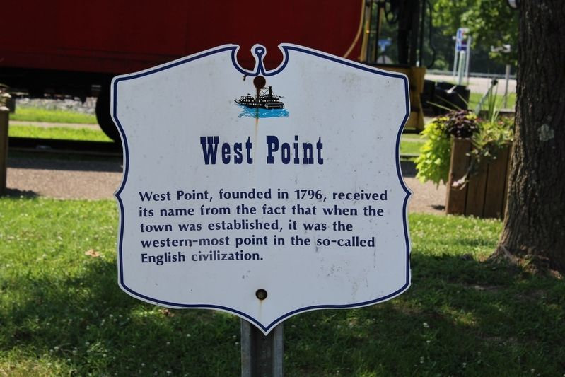West Point Marker image. Click for full size.