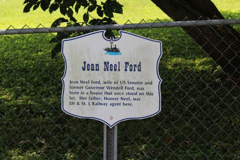 Jean Neel Ford Marker image. Click for full size.