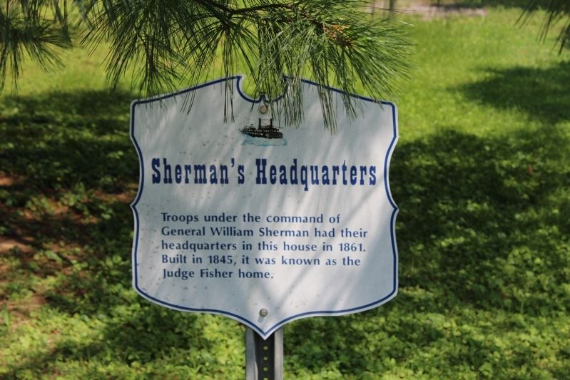 Sherman's Headquarters Marker image. Click for full size.