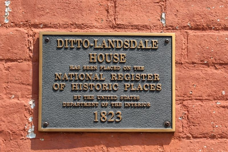 Ditto-Lansdale House image. Click for full size.