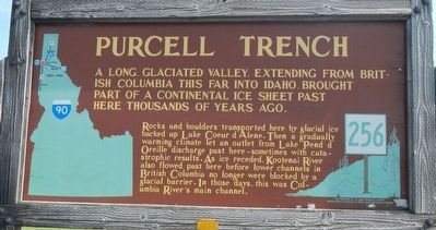 Purcell Trench Marker image. Click for full size.