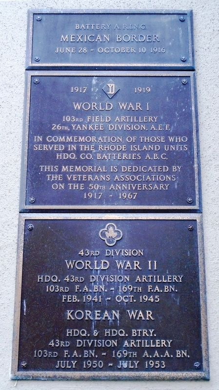 State Arsenal 20th Century War Memorials Marker image. Click for full size.