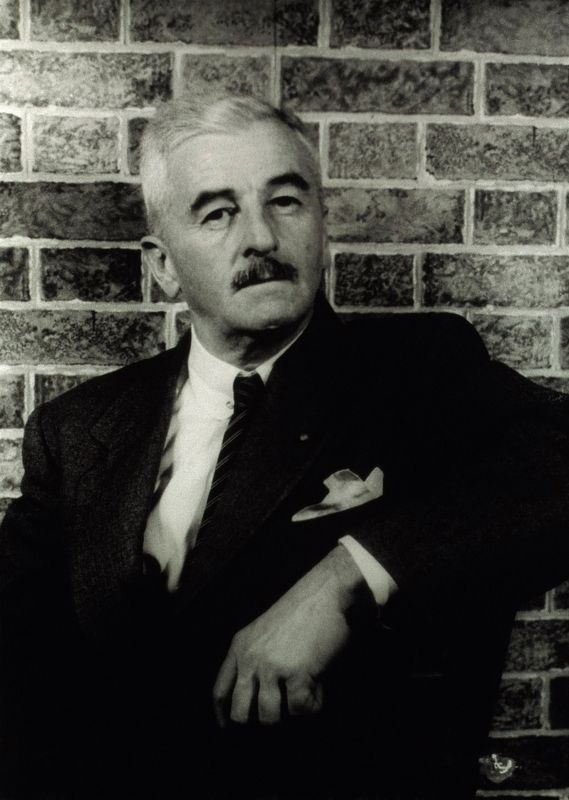 William Faulkner image. Click for full size.