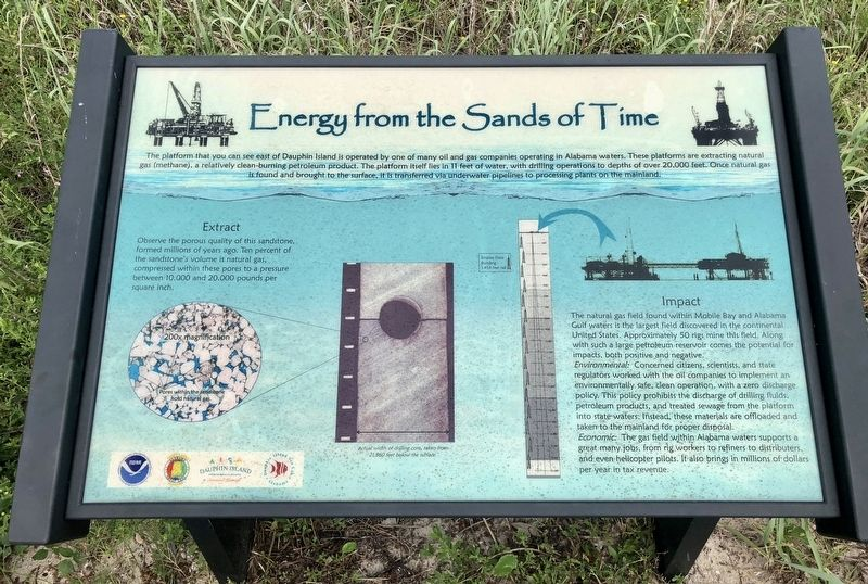 Energy from the Sands of Time Marker image. Click for full size.