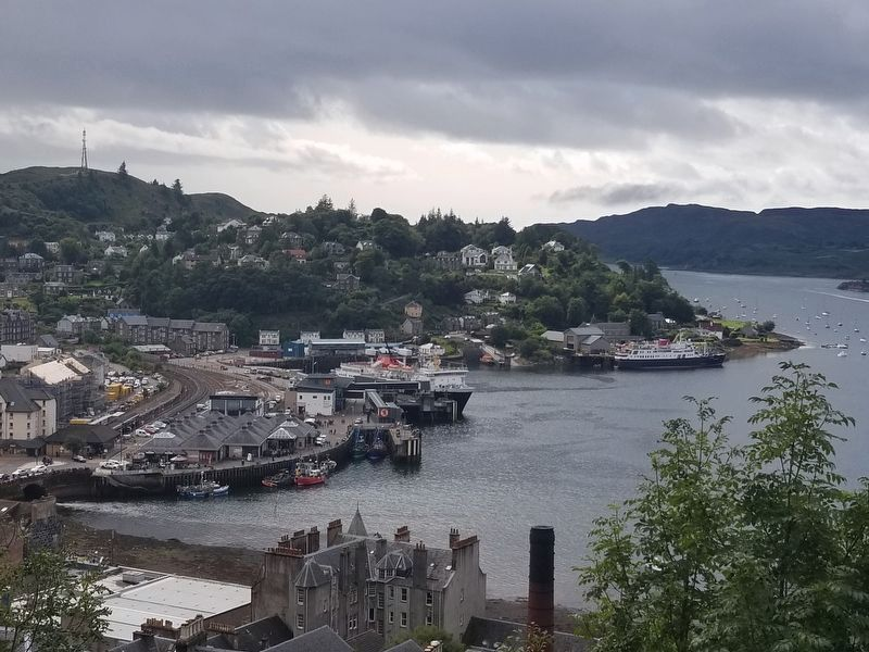 View from McCaig's Tower image. Click for full size.
