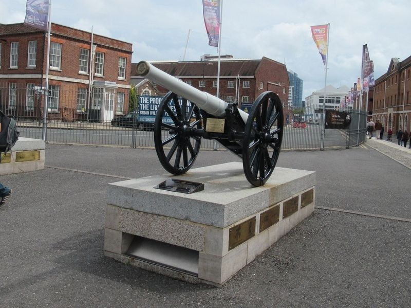 Field Gun and Marker image. Click for full size.