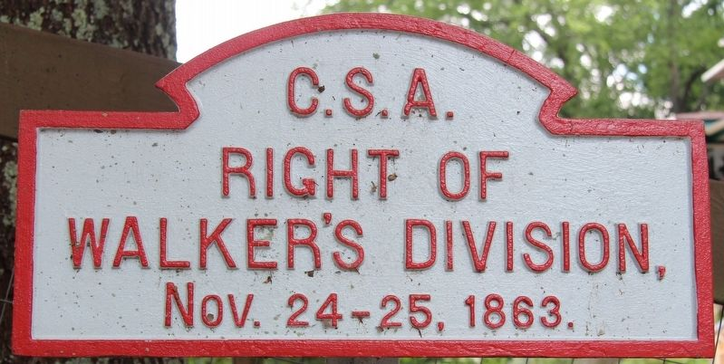 Walker's Division Marker image. Click for full size.