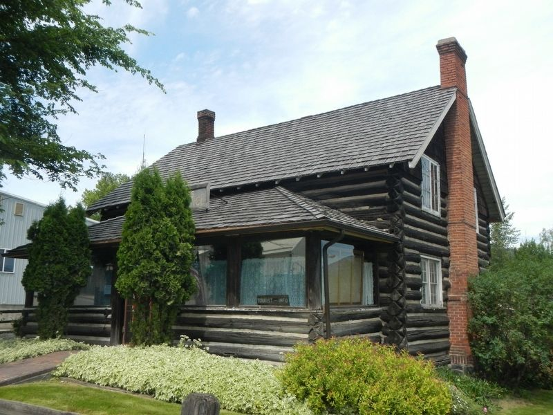 Hughes House Historical Museum image. Click for full size.