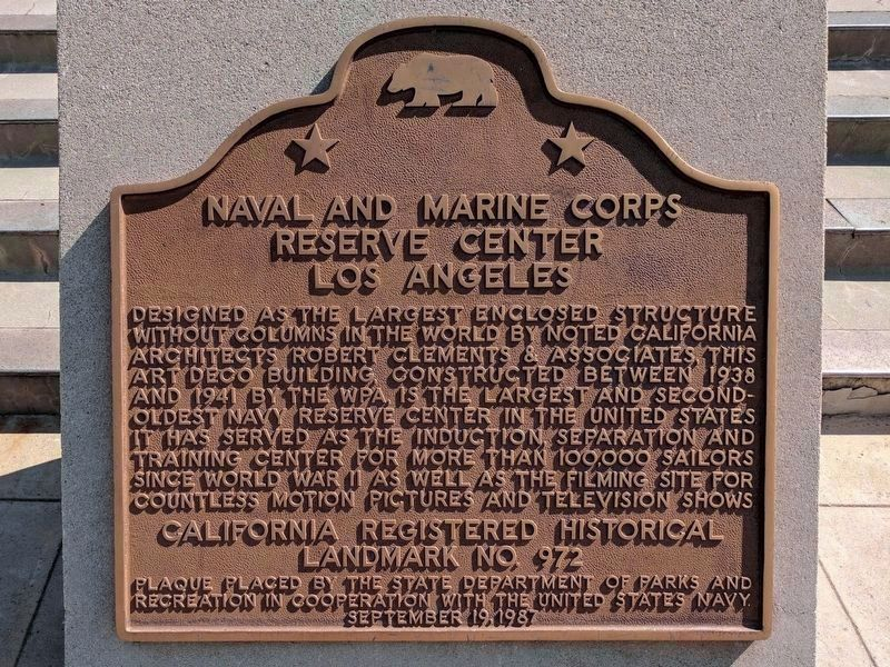 Reserve Center Marker image. Click for full size.