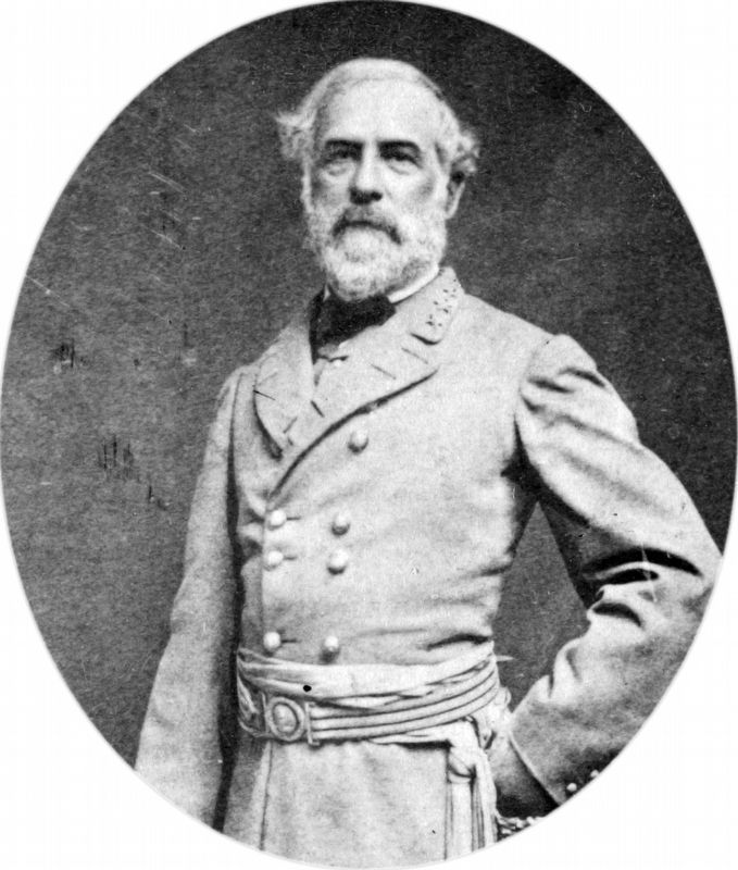 General Robert E. Lee image. Click for full size.