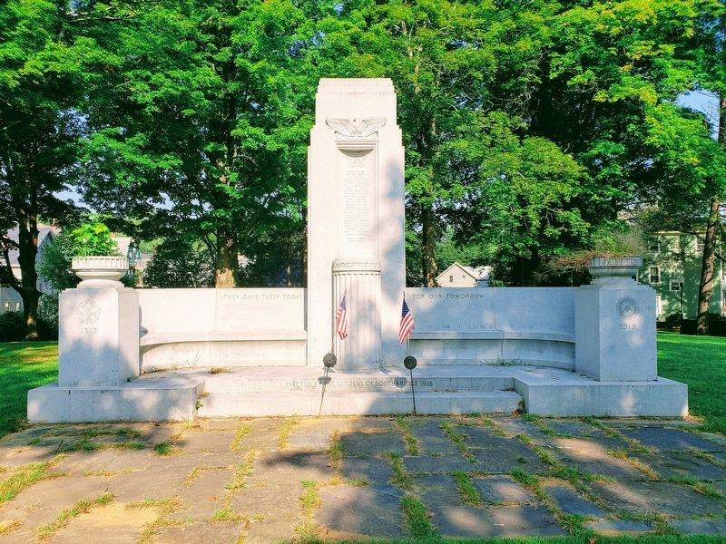 Southbridge World War I Memorial image. Click for full size.